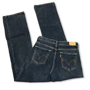 Levi's 512 Perfectly Slimming Bootcut Jeans Dark